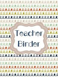 Teacher Binder Cover Pages Navy Olive Rust By Creative Classroom