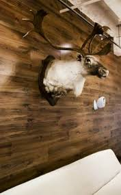 ... Installing Laminate Flooring On The Wall Love The Look Minus The ...