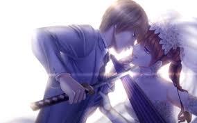 cute anime couple hd image