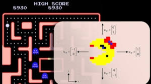 engineers crush ms pac man score fake player industrial ms pac man game showing control vector