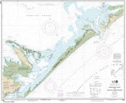 11550 Ocracoke Inlet And Part Of Core Sound Nautical Chart