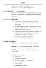 Accounts Payable Receivable Resume Sample Best of Sample Resume Of Accountant Accounting Resume Template Accounting