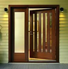 wooden doors with glass panels s wood front doors with glass s wood door with glass