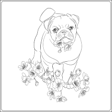 You could even print this page onto some card, colour in the. Dog Coloring Pages Printable Coloring Pages Of Dogs For Dog Lovers Of All Ages Printables 30seconds Mom