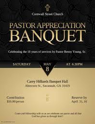 Appreciation Banquet Flyer Template Postermywall
