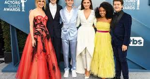 SAG Awards 2020: Fashion battle with the casts of 'Stranger ...