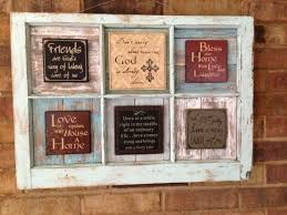 Salvaged Antique 6 Pane Window Upscaled With By Justmeandmom 48 00