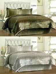 velvet bedding king velvet comforter sets give your room royal touch with set trusty decor 4