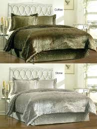 velvet bedding king velvet comforter sets give your room royal touch with set trusty decor 4