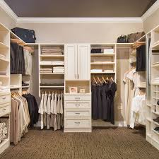 Wood closet shelving Solid Wood Walk In Makerzooco Custom Closet Organizers By Closet Organizers Usa