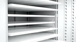 metal storage shelves. metal storage cabinets with doors and shelves