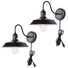 kingmi dimmable wall lamp black