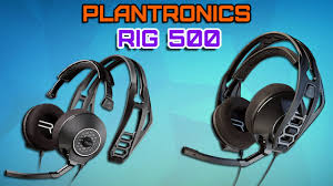 <b>Plantronics RIG 500</b> Обзор. Недорогая <b>Гарнитура</b> для ценителей ...