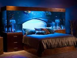 really cool bedrooms tumblr. Beautiful Brown Blue Wood Glass Unique Design Bedroom Tumblr Under Modern Aquarium Bed Drawer Mattres Cushion Really Cool Bedrooms B