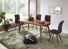 Wohnling Esszimmertisch Wl5573 Holz 200x77x100 Cm Sheesham Massivholz Tisch Designer Küchentisch Holz Massiver Holztisch Rustikal Speisetisch