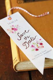 bookmark save the date 15 original save the date ideas your guests will love wedding