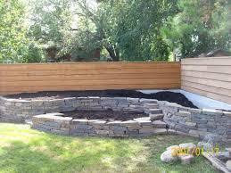 Decorative Stones For Flower Beds Enchanting Front Garden Ideas Construction Luxury Garden