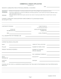 Commercial Credit Application Template Free Business Credit