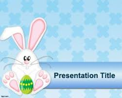 Free Microsoft Powerpoint Templates 2007 Free Easter Rabbit Powerpoint Template