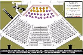 Seating Chart Wolf Creek Amphitheater
