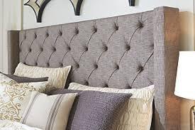 cushion headboard queen.  Cushion Sorinella Queen Upholstered Headboard Gray Large To Cushion Headboard R