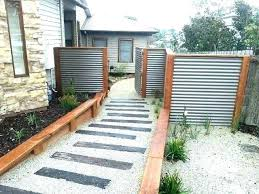corrugated fence panel panels metal for best ideas on fences diy pla