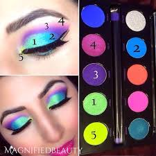 urban decay electric palette amazing colors by magnifiedbeauty on insram