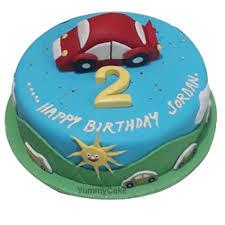 2nd Birthday Cake Online For Boys Free Delivery Yummycake