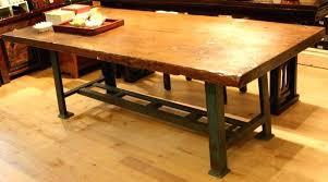 Furniture Of America Bradensbrook MidCentury Modern Industrial Industrial Look Dining Table
