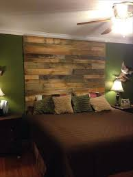 Pallet Bedroom Diy Wood Pallet Wall Ideas And Paneling