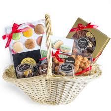 luxury holiday gift basket shippable macaron café