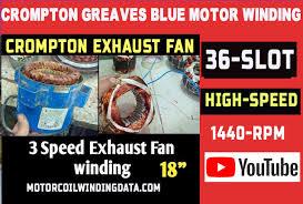 crompton greaves blue exhaust fan 18