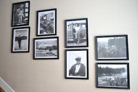 black picture frames wall. View In Gallery Black Picture Frames Wall N