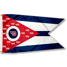 Flyers Flag Ud Flyers Oh State Shaped Flag Your Ud Flyers Oh State