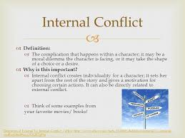conflict and the outsiders ppt video online 4 internal