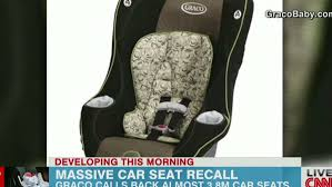 massive recall for child seats
