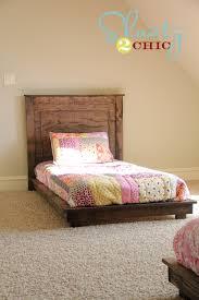 stylish diy twin bed frame ana white fillman platform twin platform bed diy projects