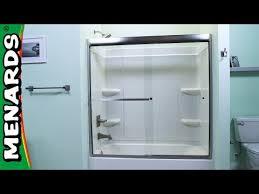 tub and shower door installati