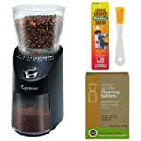 Only reason for 4 stars instead of 5 is the lack of improvement over the blade. Amazon Com Capresso Infinity Plus Commercial Grade Burr Grinder Black Kitchen Dining
