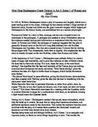 romeo and juliet essay act scene marketing research proposal romeo and juliet essay act 1 scene 5