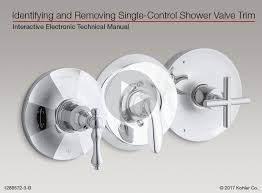 with your bath and shower valve an manual that will help you identify your valve and service parts is also available and can be viewed here