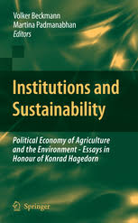 institutions and sustainability political economy of volker   preview