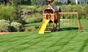 Furniture Backyard Playsets Cedar Swing Gallery And Playground Sets For  Backyards Pictures Back Yard Wooden Set On Green Lawn Stock Photo Picture  Ideas Of
