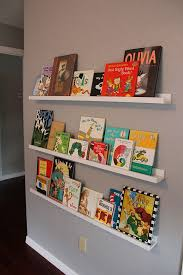 wall bookshelves kids