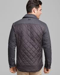 Michael kors Quilted Shirt Jacket in Gray for Men | Lyst & Gallery Adamdwight.com