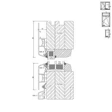 Holz Alu Fenster Detail Zeichnungen Und Cad Pläne
