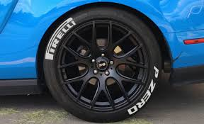 White Letter Low Profile Tires