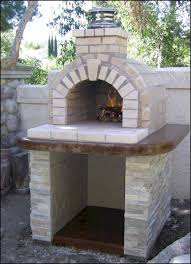 outdoor fireplace pizza oven combo lovely e of the most popular diy wood fired ovens on