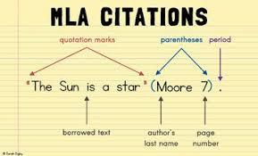 how to write mla citation mla citation poster english posters teaching writing teaching