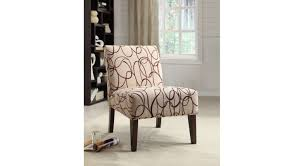 acme aberly accent chair fabric espresso